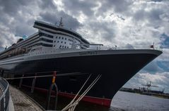 Queen Mary,festgezurrt