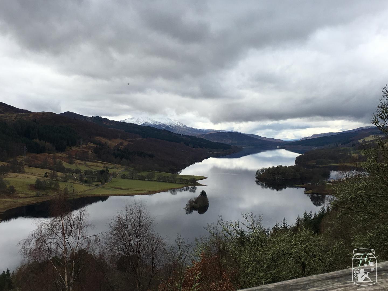 Queen's View in Schottland