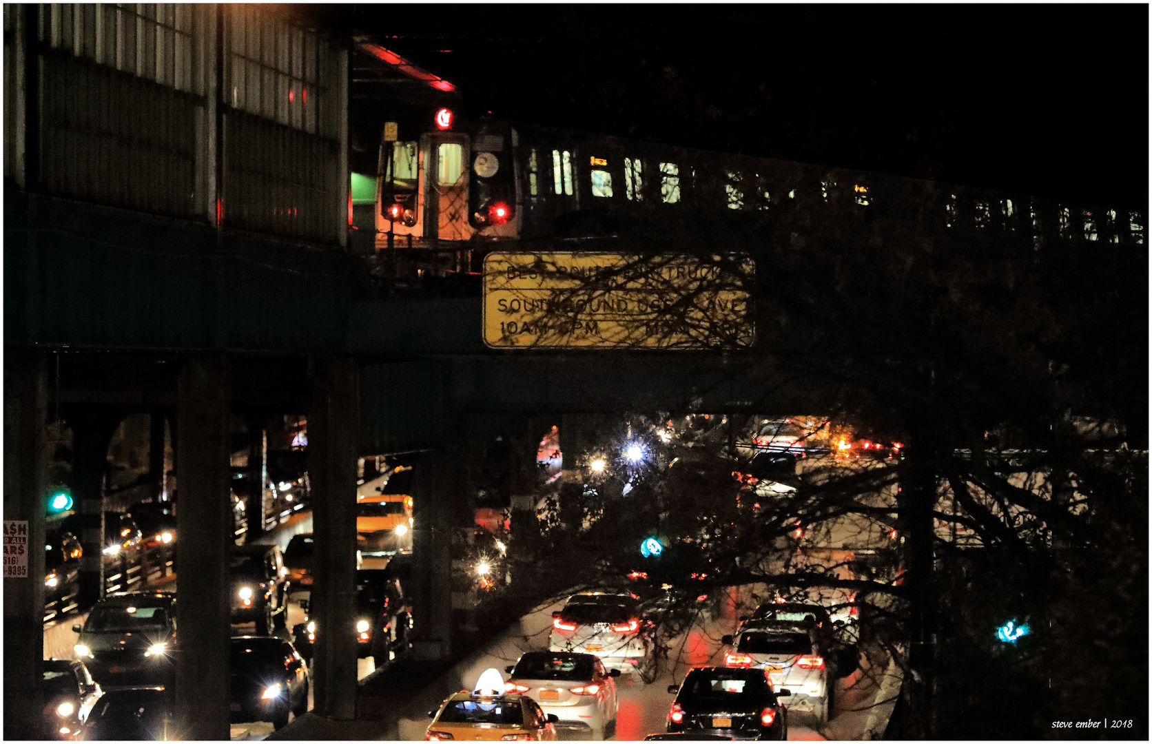 Queensboro Plaza Nightscape