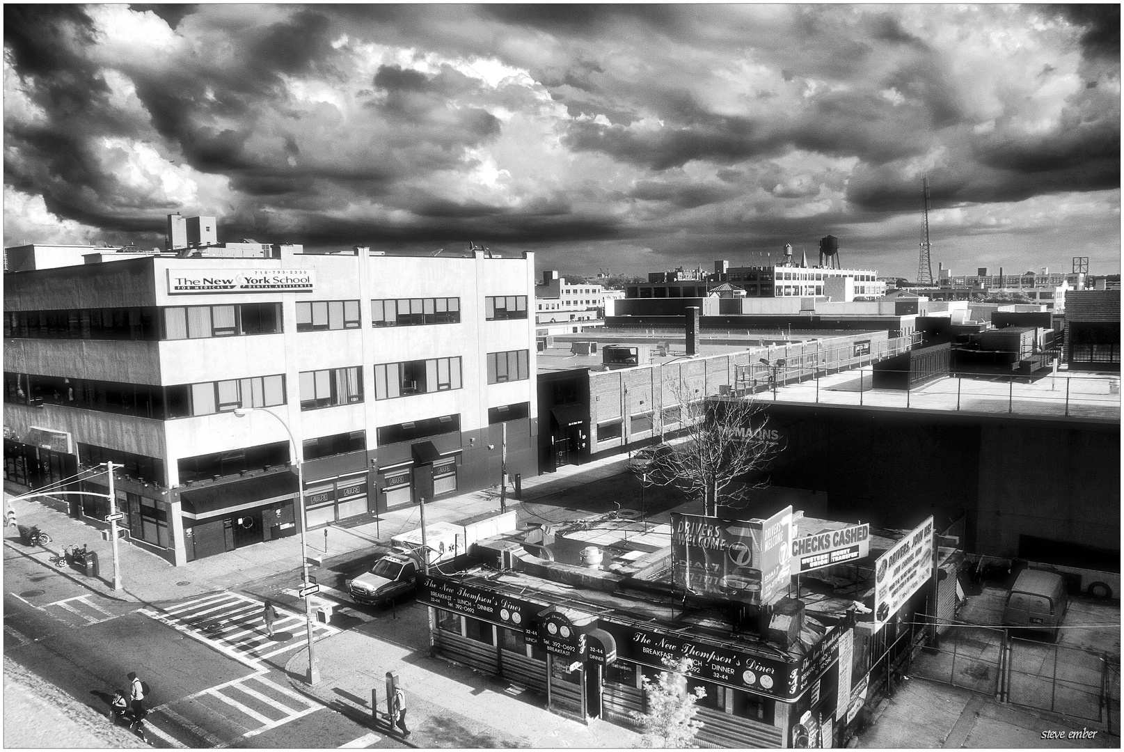 QueensScape No.2 - Storm Clouds Over Sunnyside