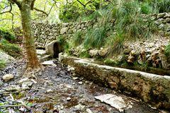 Quelle in der Nähe der Eremita de Betlem