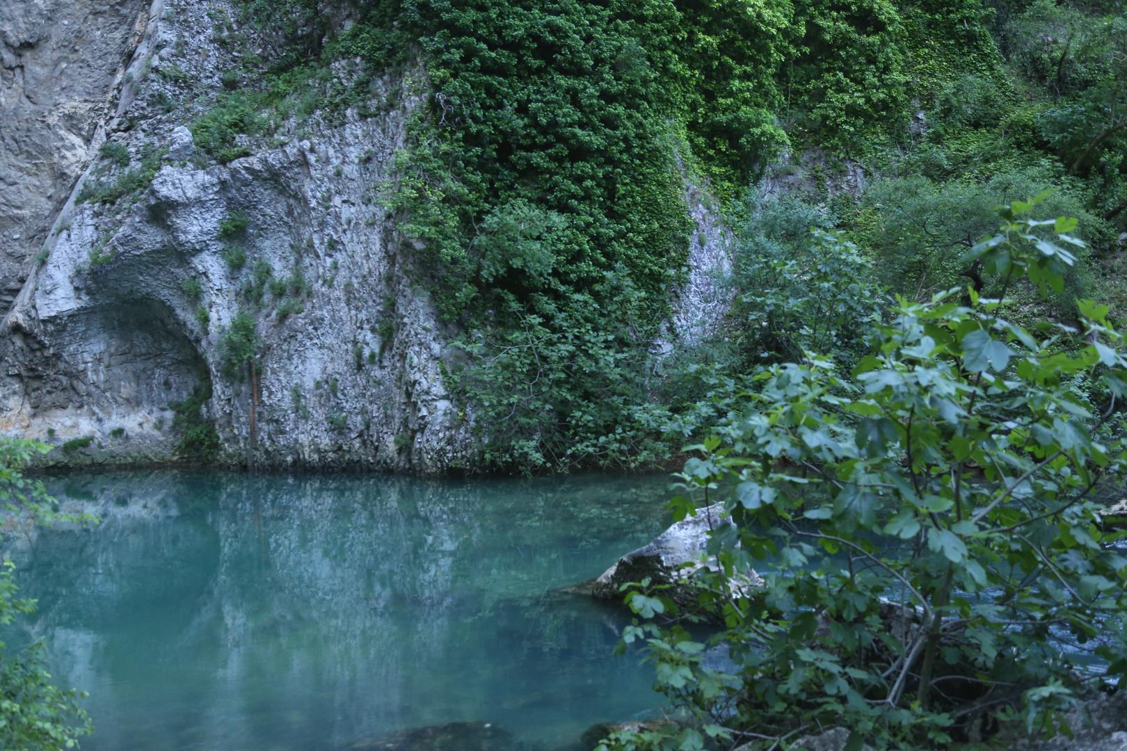 """Quelltopf der """"Fontaine de Vaucluse"""""""