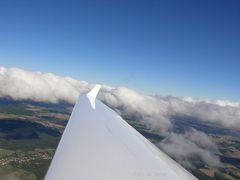 Quellwolken über der Eifel