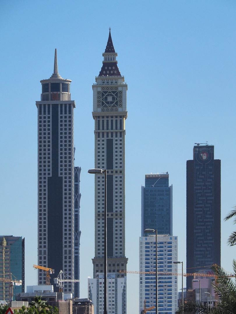 Quelques gratte-ciel de Dubaï