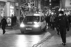 Querdenker-Demo durch die Rostocker Innenstadt
