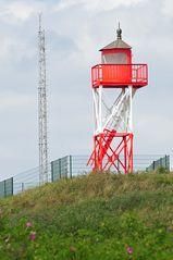 Quermarkenfeuer Borkum-Düne, heute nur noch Museumsseezeichen ohne Befeuerung.
