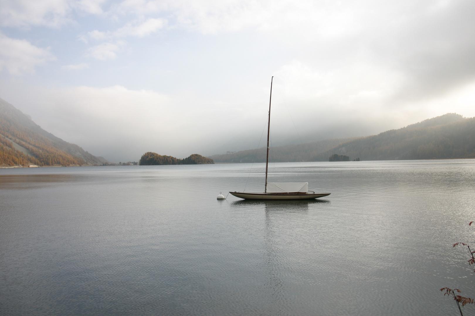 Questa è la vera barca in montagna