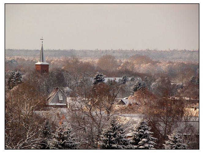 Quickborn (Kreis Pinneberg) im Winter