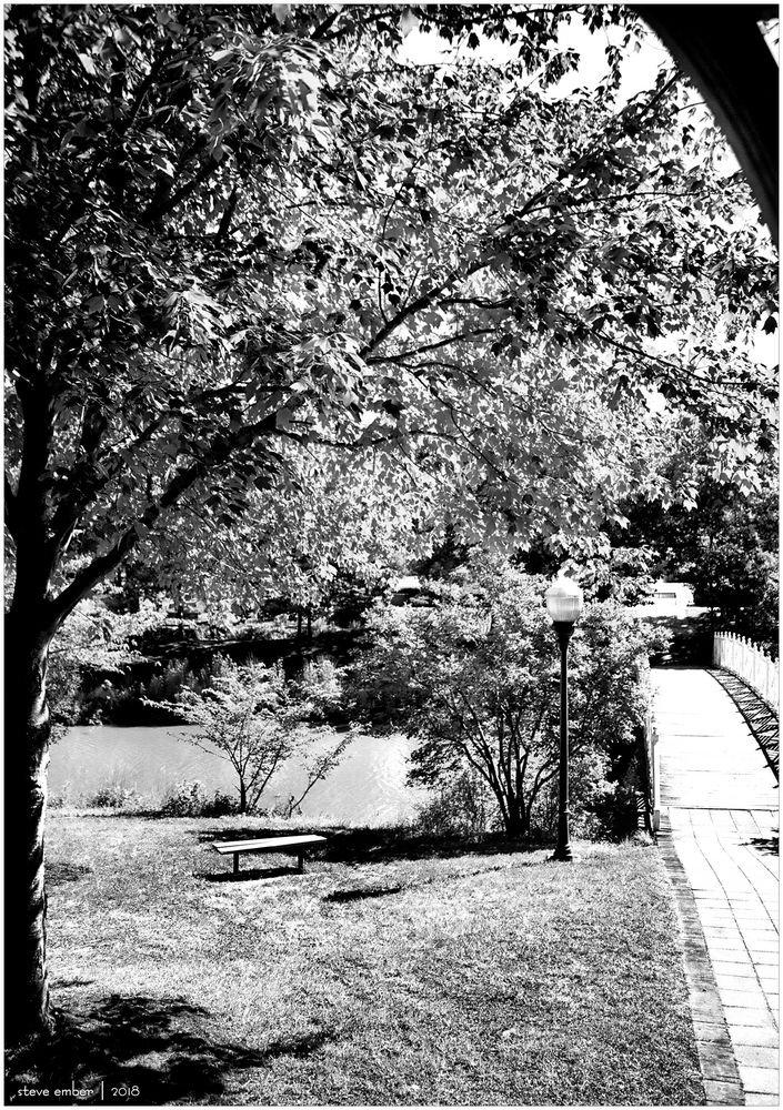 Quiet Waters Summer - A View from the Gazebo