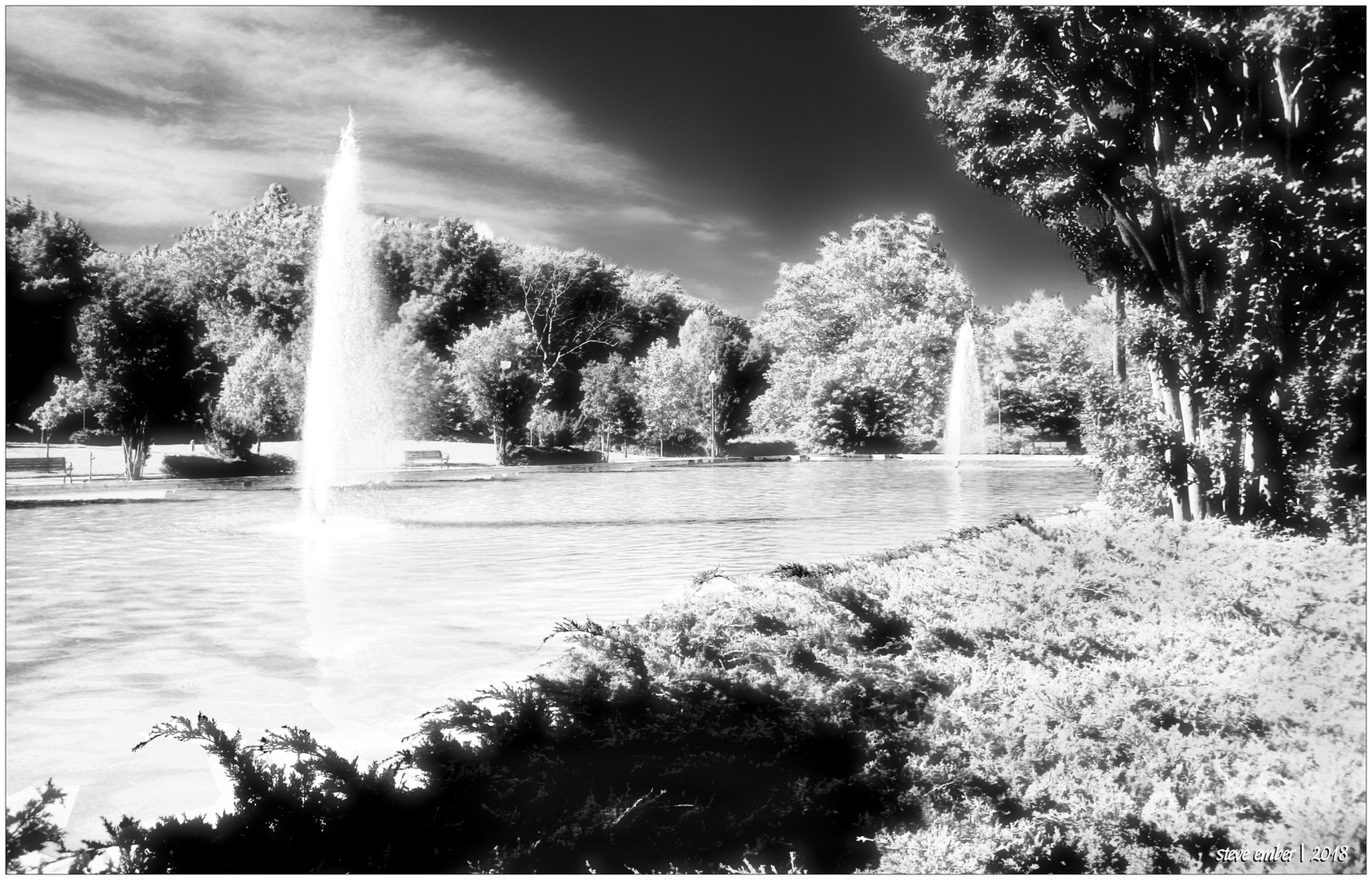 Quiet Waters Summer Impression No.3 - 'The Fountain Pool'