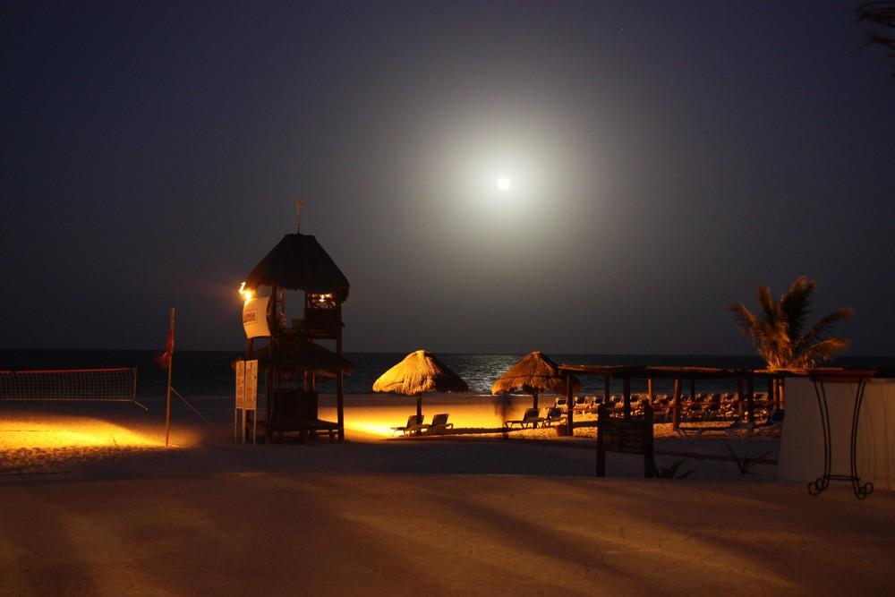 Quiete notturna....Punta Maroma , Mexico