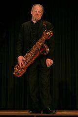 Quintessence Saxophone Quintet, Anatole Gomersall, Baritonsaxophon