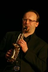 Quintessence Saxophone Quintet, Sven Hoffmann mit seinem Sopransaxophon