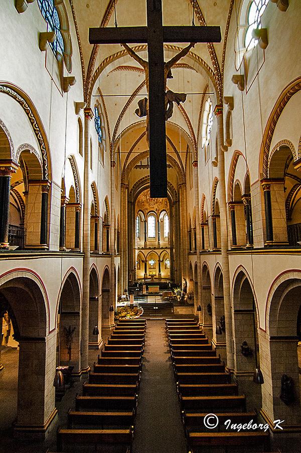 Quirinus-Münster - Kirchenschiff