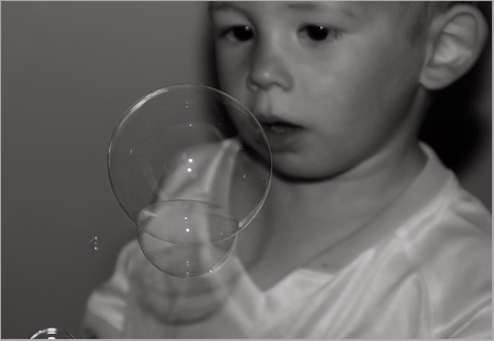 Qu'une bulle de savon.