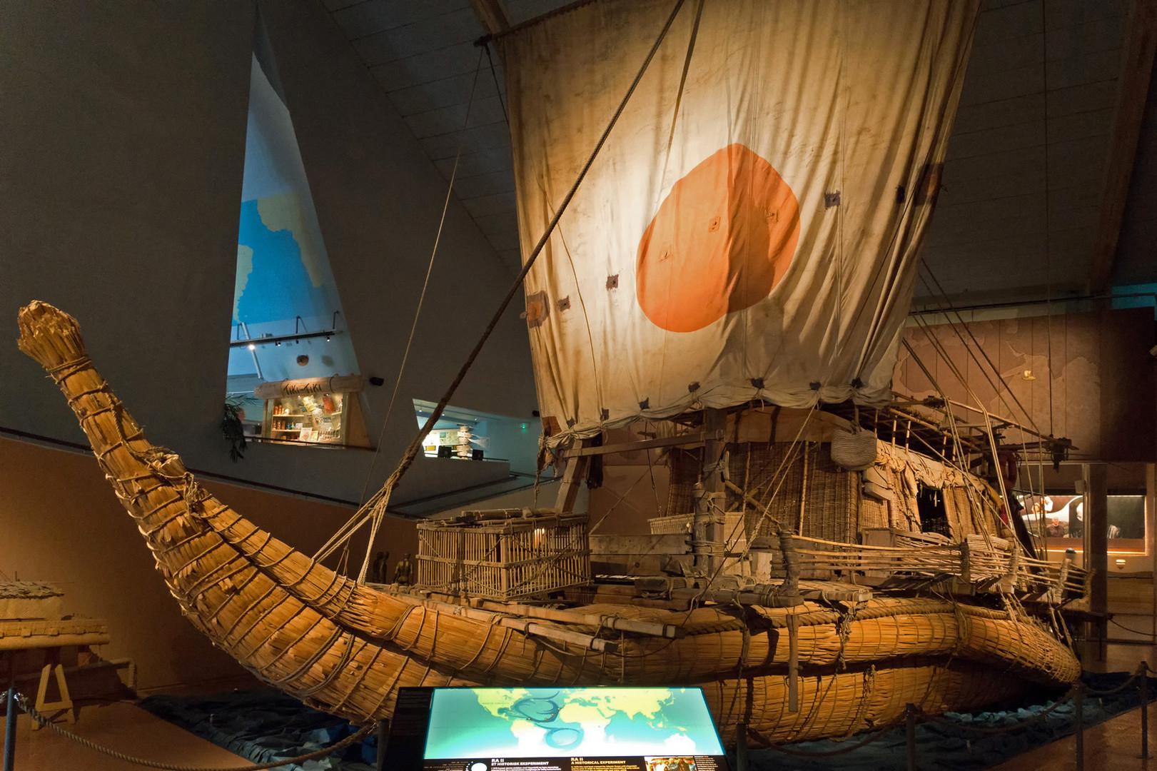 Ra II - Kon-tiki-Museum Oslo