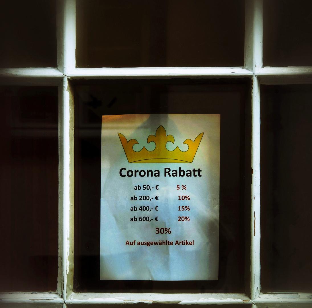 Rabais Corona!?!
