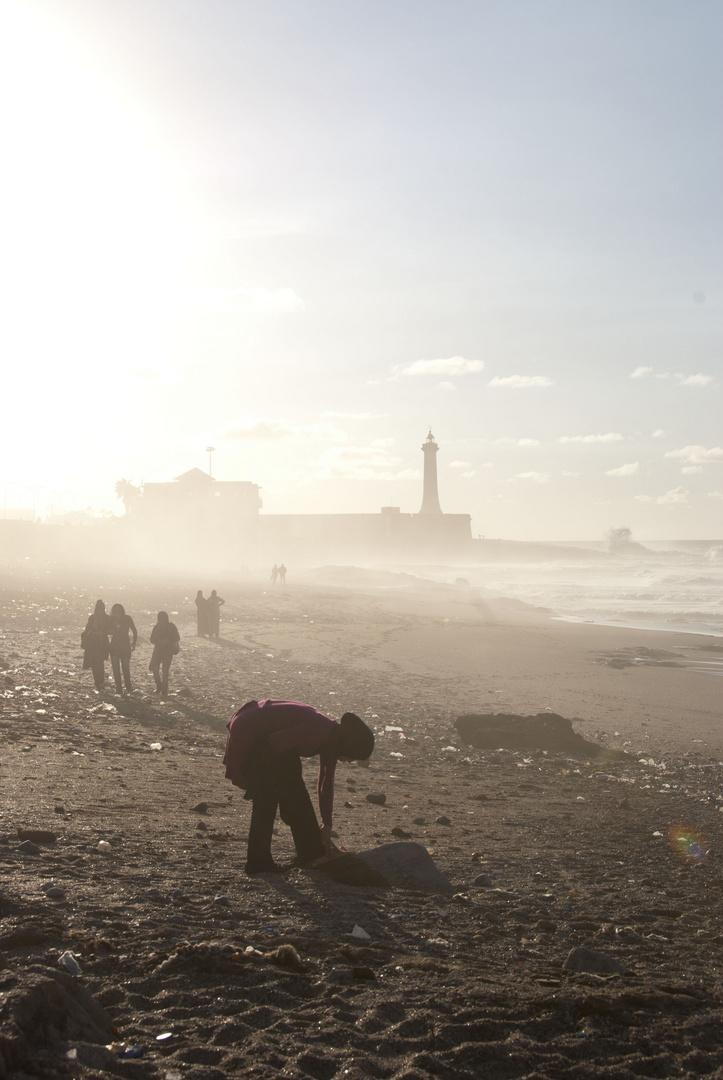 Rabat - Beach and Lighthouse