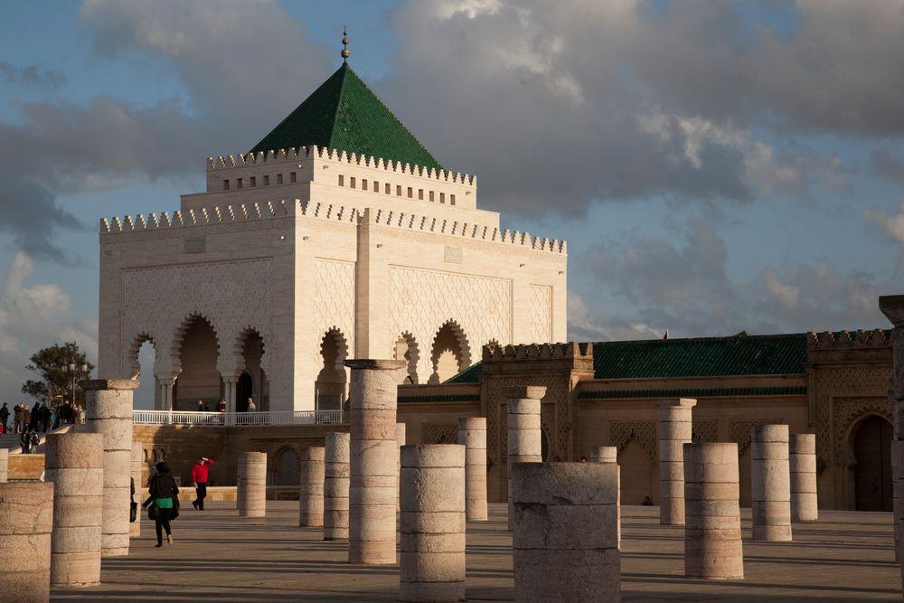 Rabat, Mausoleum Mohammed V