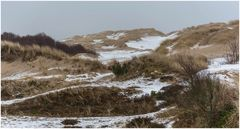 Rabjerg Mile mit Schnee