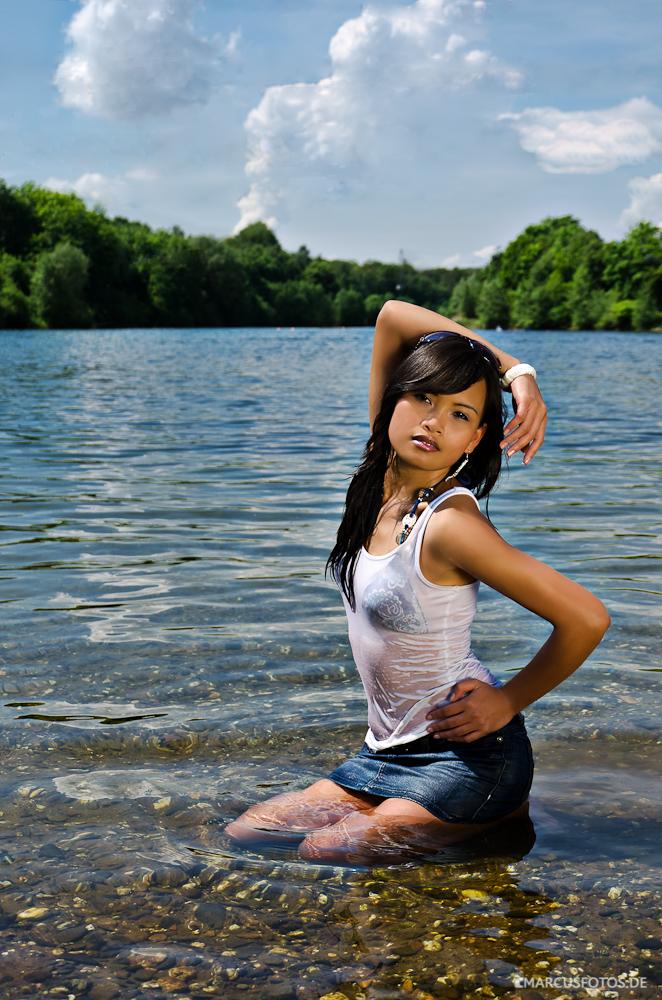 Rachel im See Foto & Bild | portrait, portrait frauen