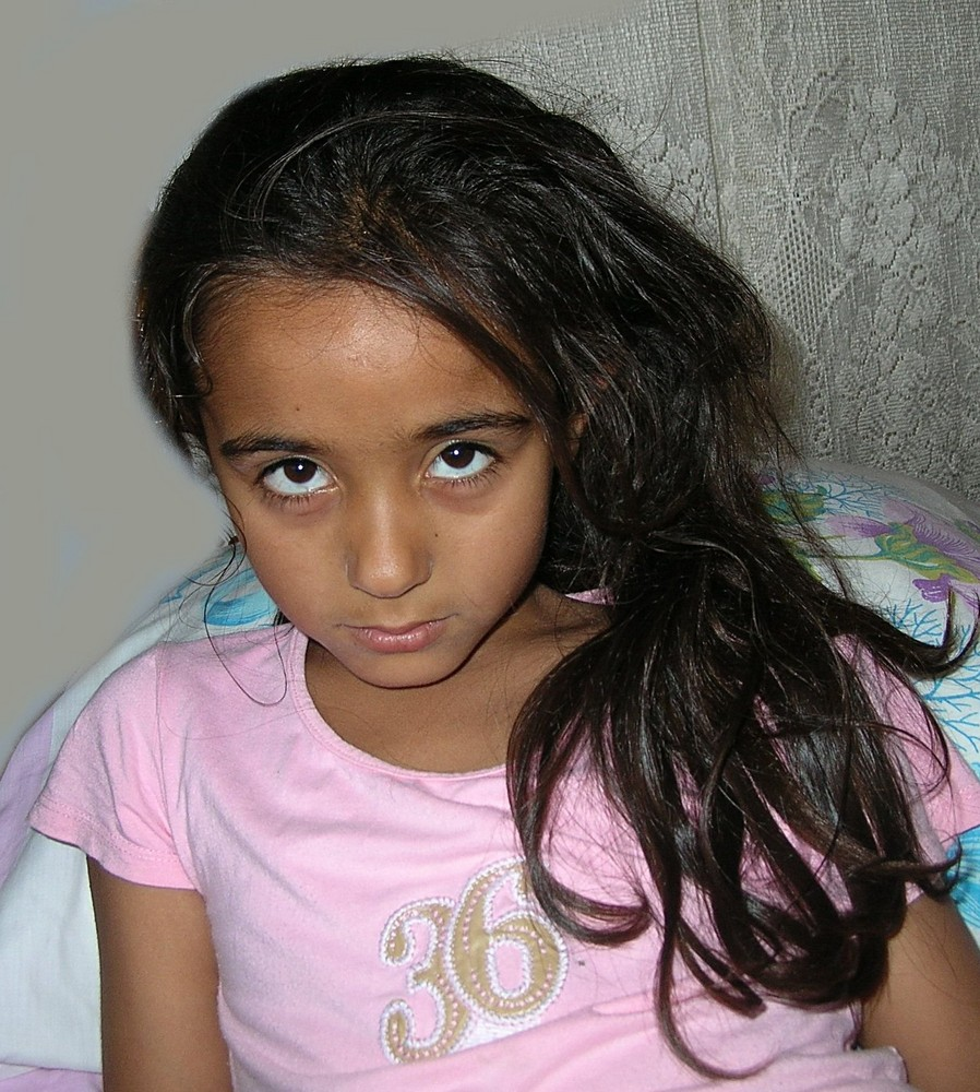 Rachma die kleine Schauspielerin