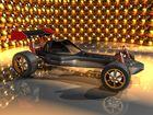 Racing Car mit etwas Weihnachtsoptik