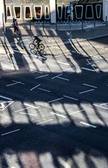 RAD Begegnung auf Kreuzung street +3Fotos +Text