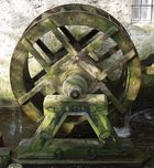 Rad der Wassermühle