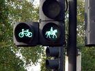Rad- und Pferdeampel