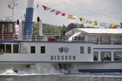 Raddampfer RMS Diessen