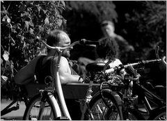Radfahren bei dieser Hitze ...