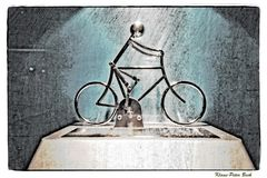 Radfahrer....