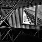 Radioteleskop Effelsberg - Der Spiegel im Spiegel