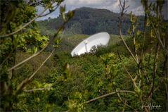 Radioteleskop Effelsberg.... Verbindung ins All
