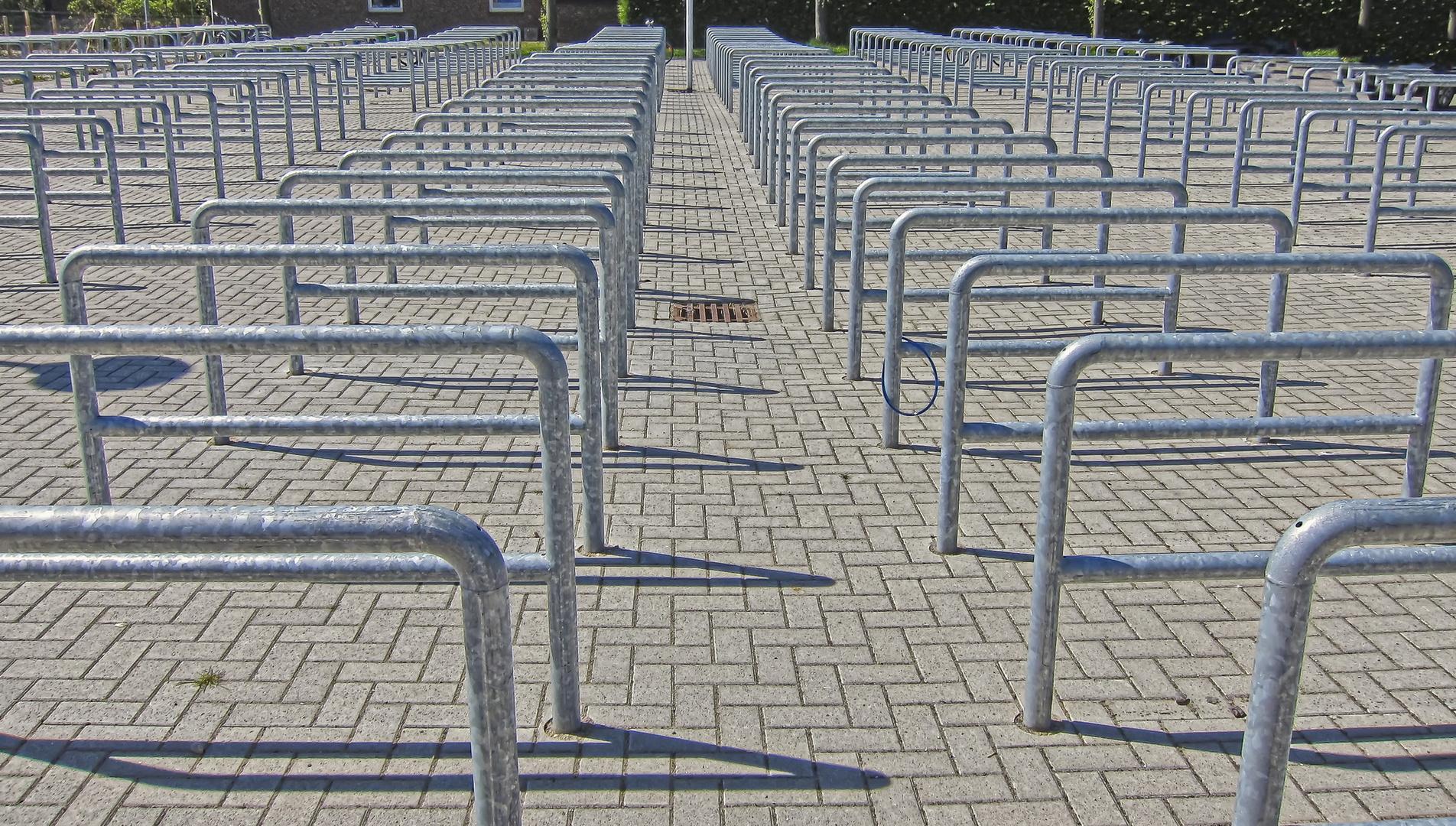 Radparkplatz