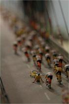 Radrennen auf der Köhlbrandbrücke
