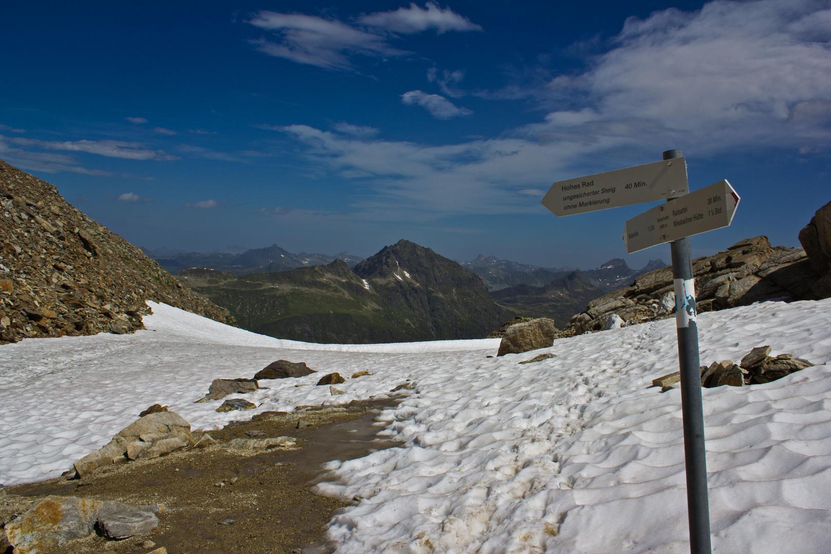 Radschulter 2690m