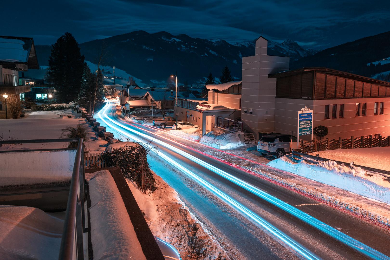 Radstadt bei Nacht