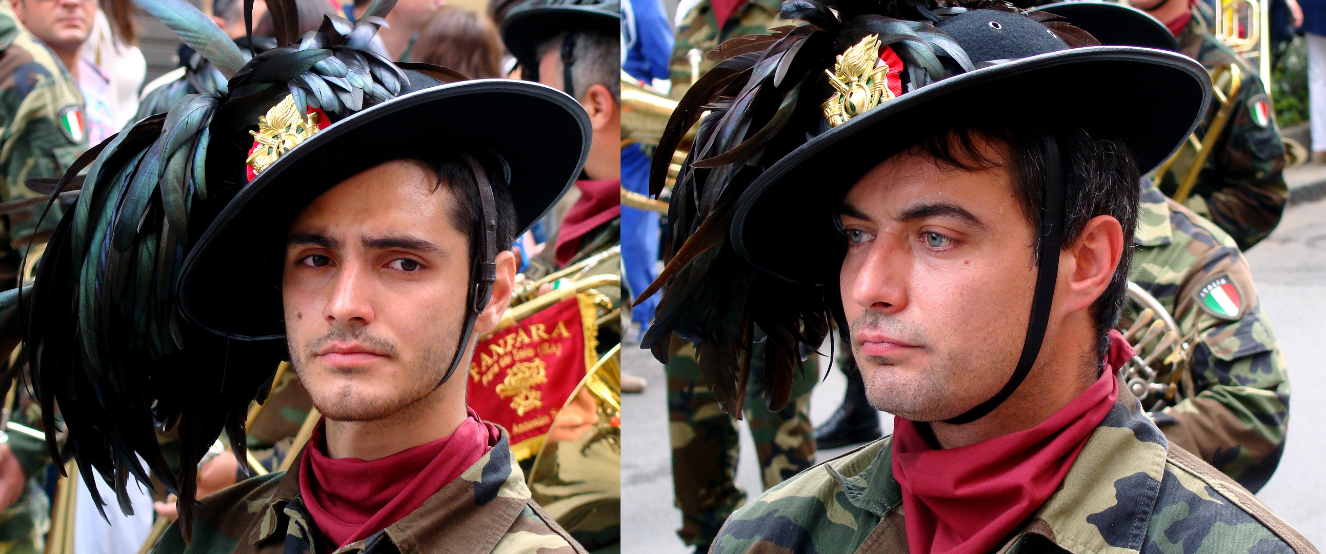 Raduno dei Bersaglieri a Salerno: anche l'occhio vuole la sua parte 2