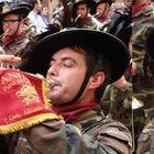 Raduno dei Bersaglieri a Salerno: anche l'occhio vuole la sua parte!
