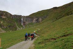 Radwanderer unterwegs