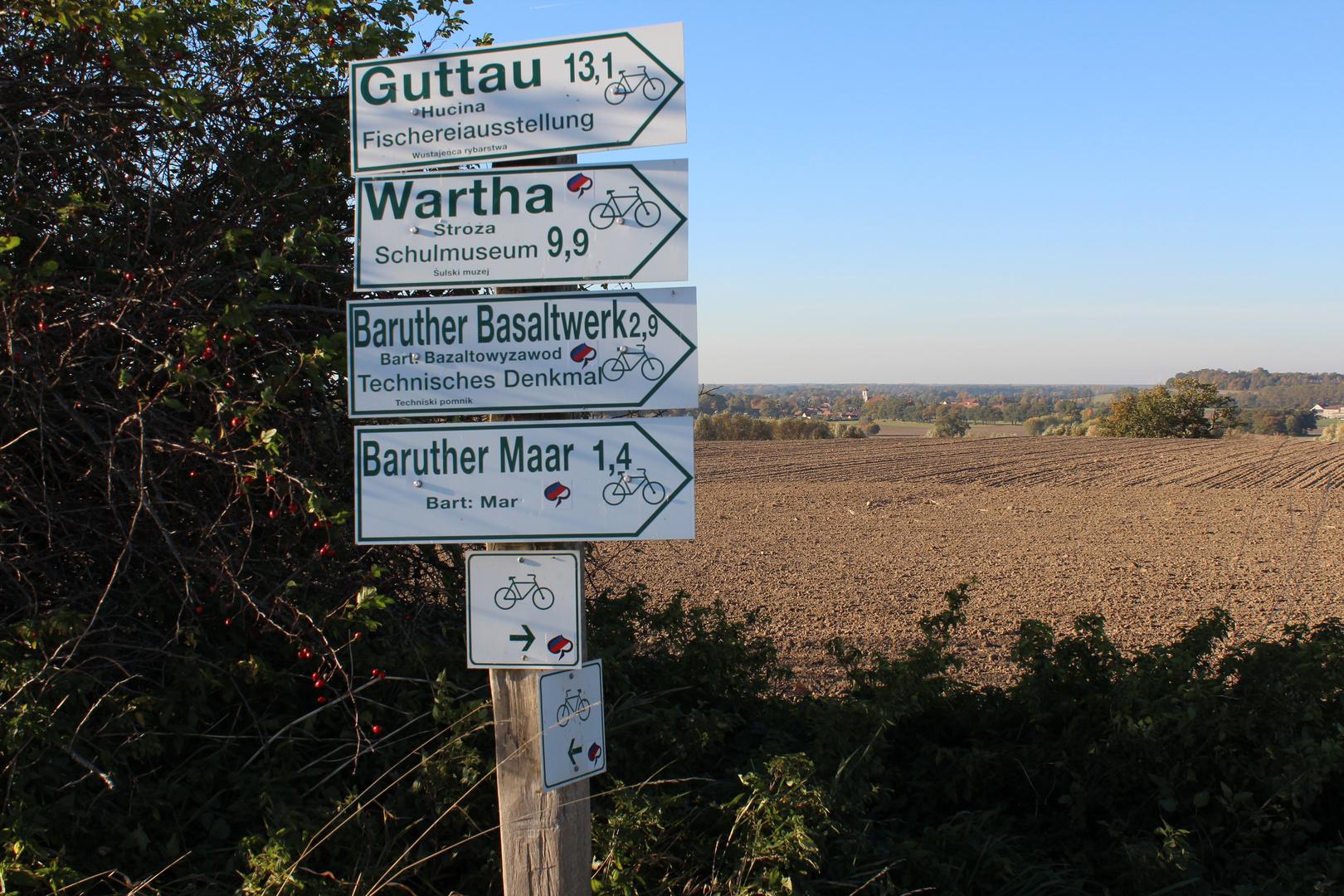 Radwege um meinen Heimatort Baruth/ Sachsen
