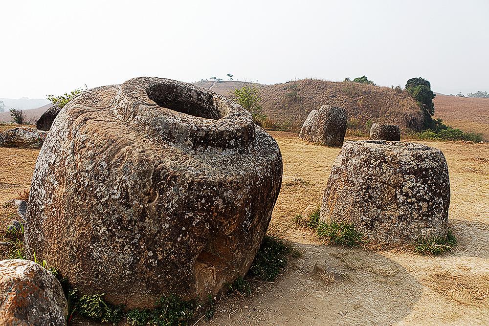 rätselhafte Steingefässe