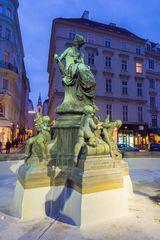 Raffael Donner Brunnen am Neuen Markt