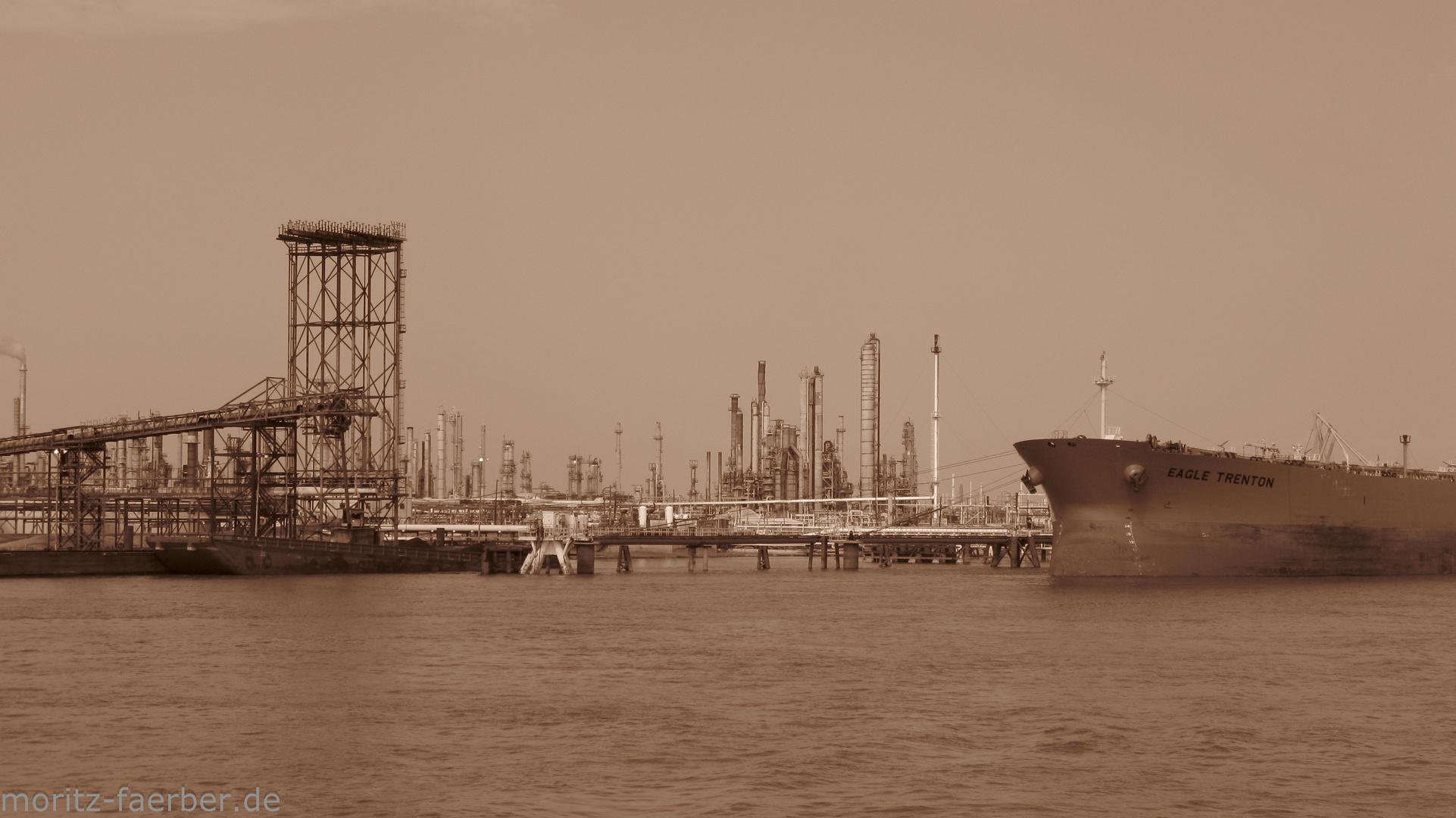 Raffinerie am Mississippi