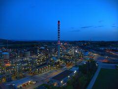 Raffinerie Cressier L'Heure bleue