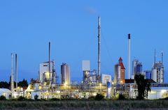 Raffinerie Dollbergen.