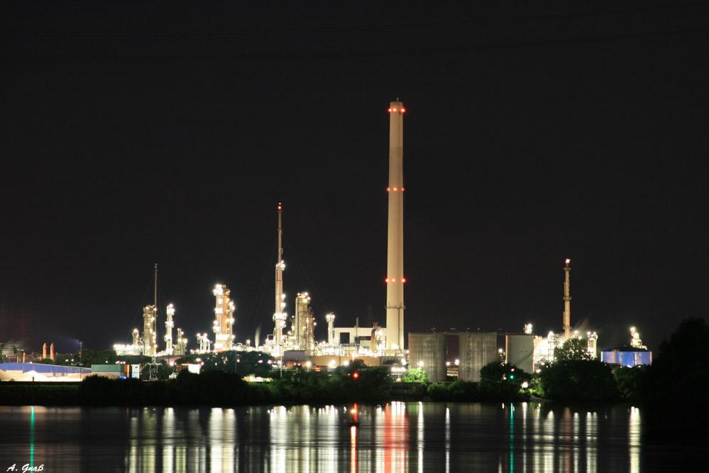 Raffinerie Moorburg