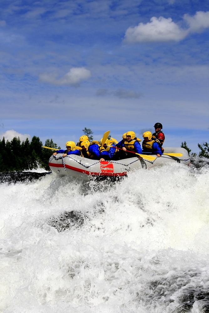 Rafting auf der Otra